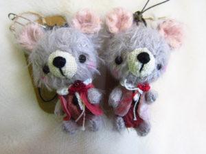 ネズミ2体