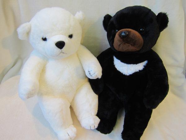 ベアフレール(北極熊とツキノワグマ)