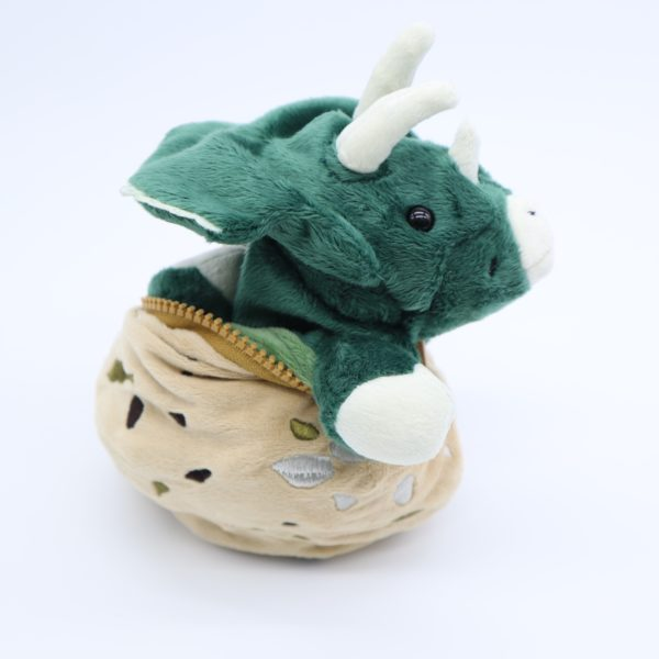 卵からトリケラトプス(ふか)よこ