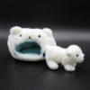 ゆきんこ北極熊(よこ)