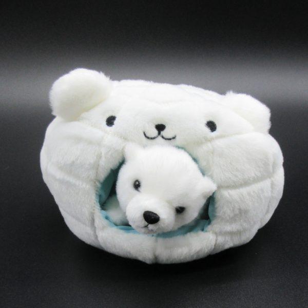 ゆきんこ北極熊(inかまくら)
