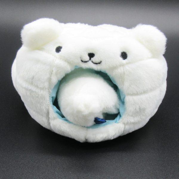 ゆきんこ北極熊(inかまくら)うしろ