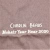 Charlie Mohair Year Bear 2020(袋の刺しゅう)
