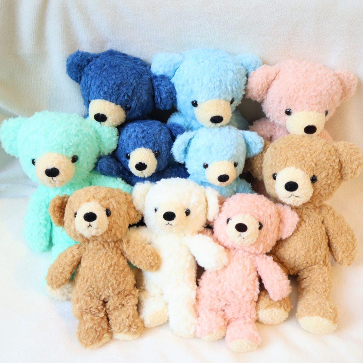 クマのフカフカシリーズ