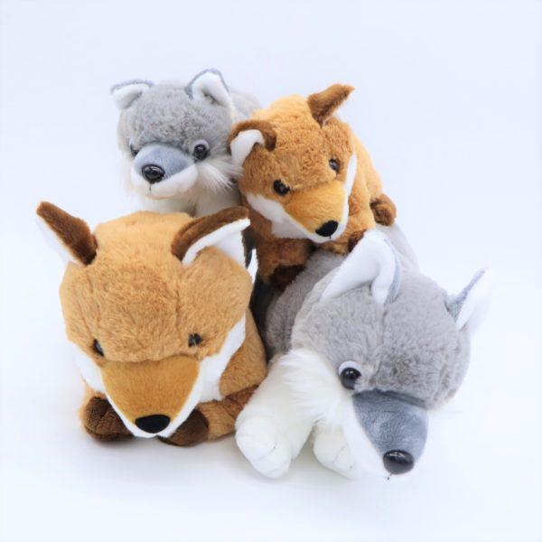 Step Snowキツネとオオカミ