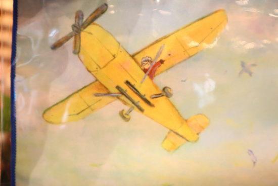 BAYAKO(ハンカチ)飛行機
