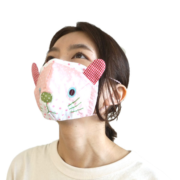 ウサギのマスク
