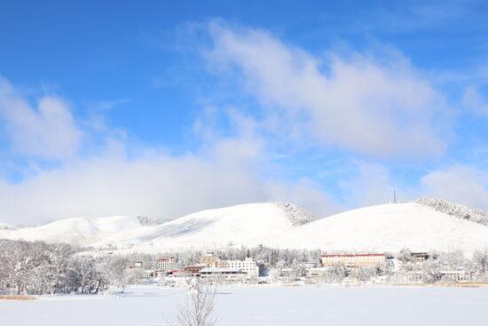 車山高原と白樺湖